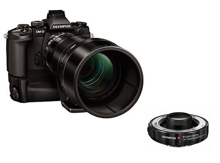 Photokina 2014 - Olympus : un zoom 40-150 f/2.8 Pro et un téléconvertisseur 1.4x