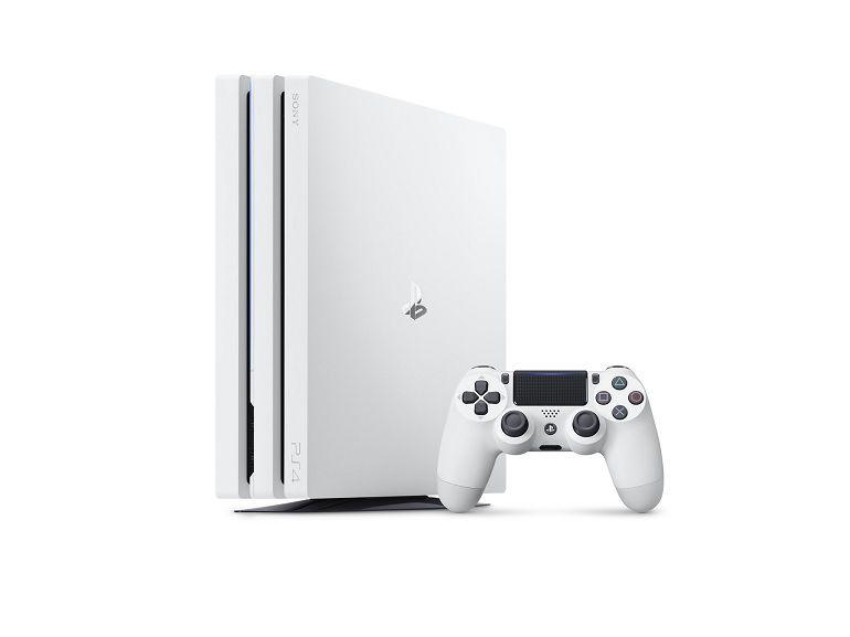 Une PlayStation 4 Pro, blanc glacier en approche et disponible avec Destiny 2