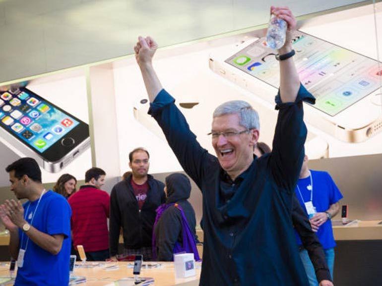 Apple : toujours dépendant de l'iPhone, les services en forte progression