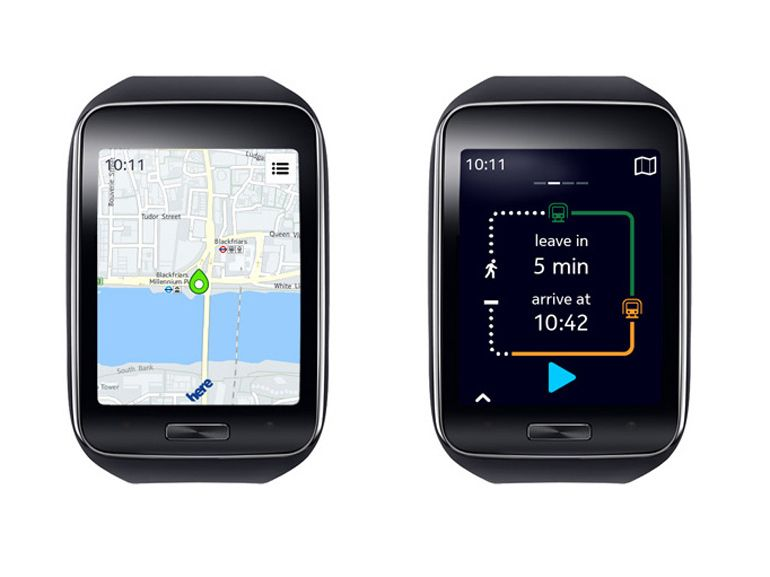Samsung Galaxy Gear S, la meilleure montre GPS ?