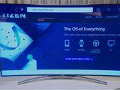 CES 2015 : les smart TV 2015 de Samsung passent sous Tizen