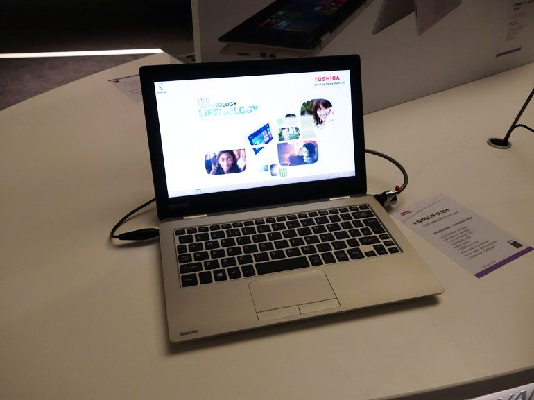 IFA 2014 – Toshiba Satellite CL10-B en vidéo, le PC Windows 8.1 low cost de 11 pouces