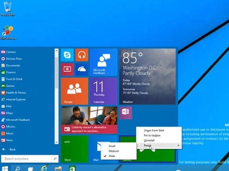 Windows 10 sera bien dévoilé le 30 septembre