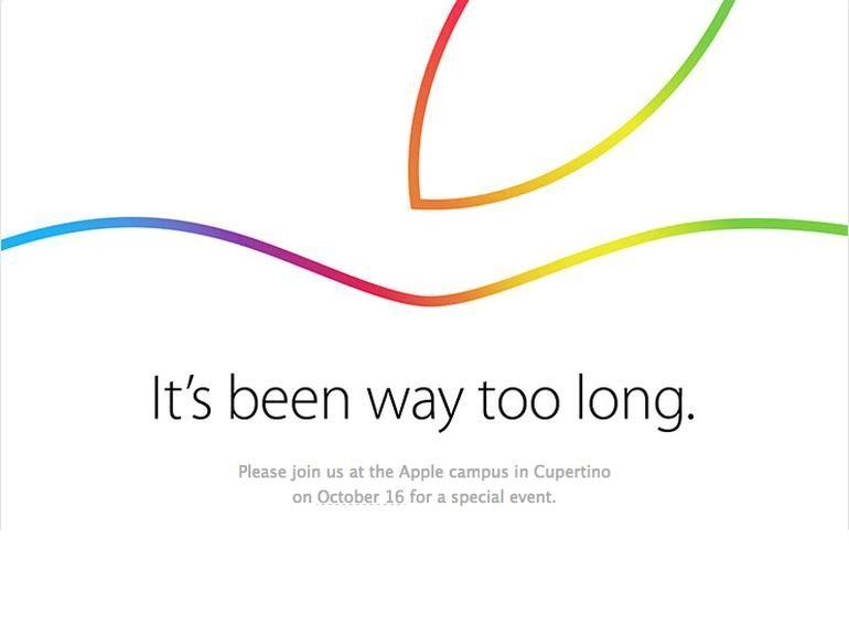 Keynote iPad Air 2 et iMac : ce sera le 16 octobre