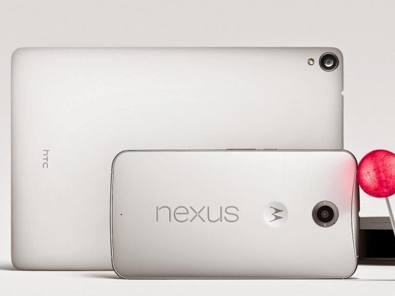 Google annonce le Nexus 6, la Nexus 9 et Android Lollipop