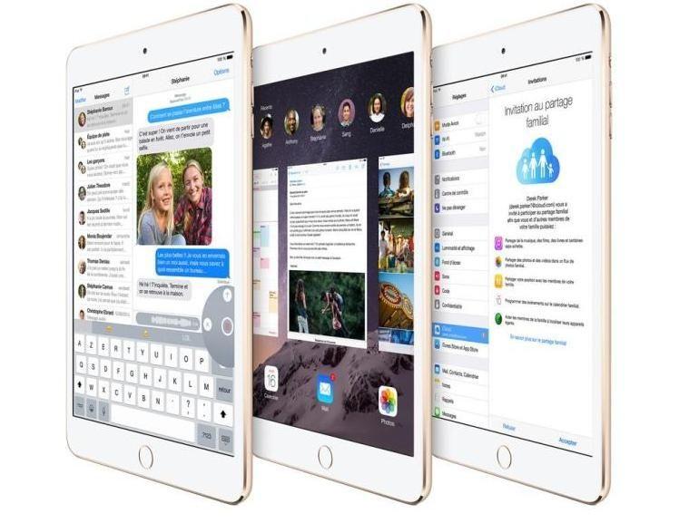 L'écran de l'iPad mini 3 sera difficile à réparer