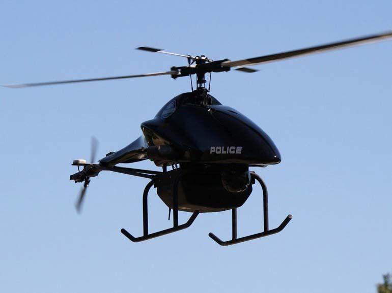 Les drones pourraient contrôler la vitesse sur les routes