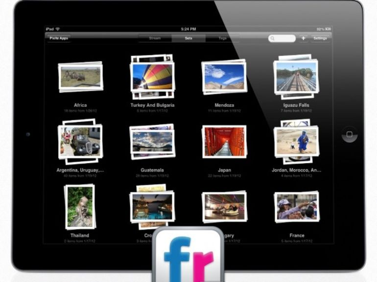 Flickr dispose enfin de son application dédiée sur iPad