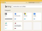 Internet Explorer 11 : Bing en nouvel onglet et suggestions de recherche
