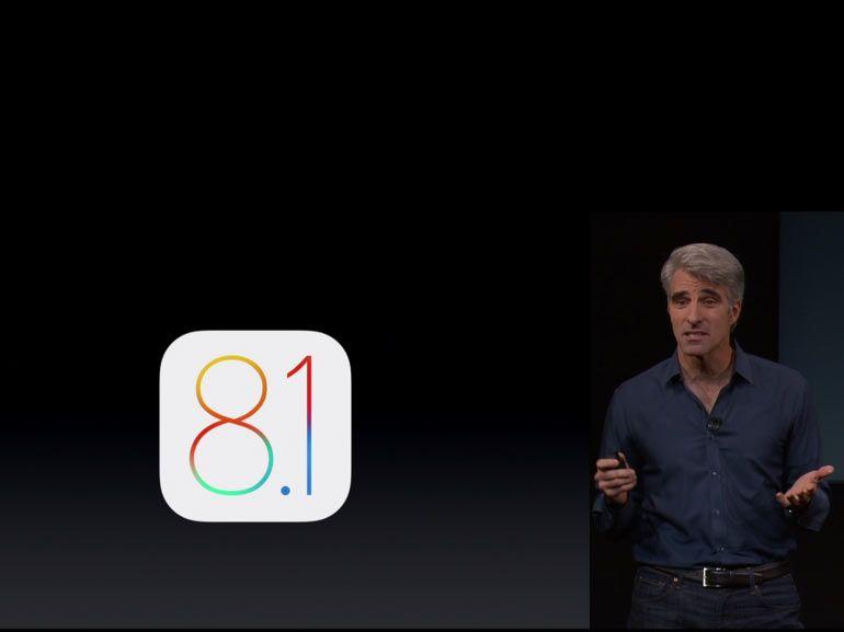 Apple lance iOS 8.1.1 pour améliorer les performances de l'iPhone 4S et de l'iPad 2