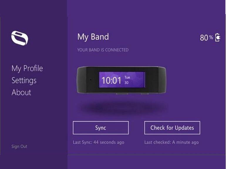 Avec Band, Microsoft se met au bracelet fitness