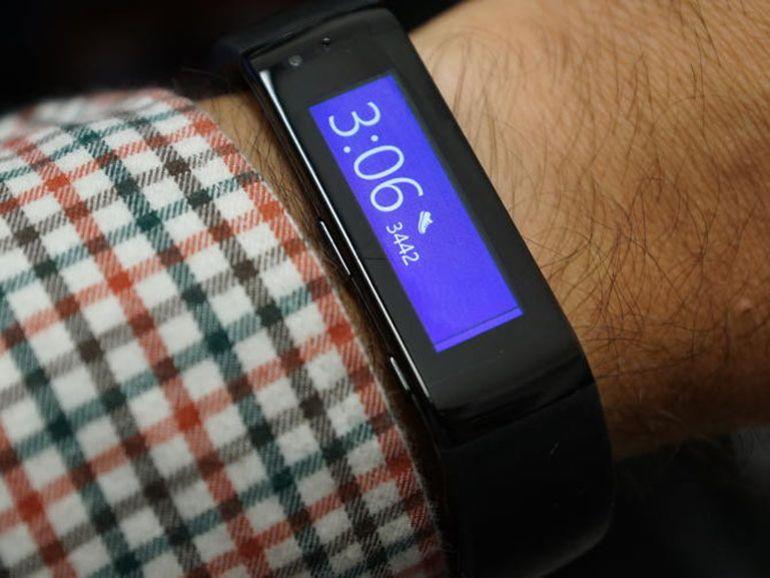Microsoft Band : le bracelet de fitness est commercialisé moins de 200 dollars