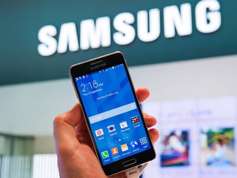 """Samsung : un """"produit"""" à écran pliable fin 2015"""