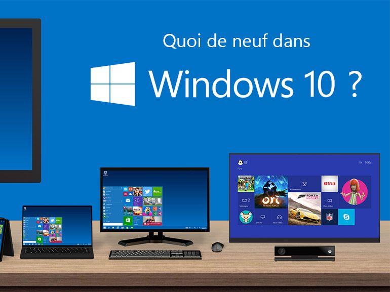 Windows 10: sept éditions différentes sont prévues