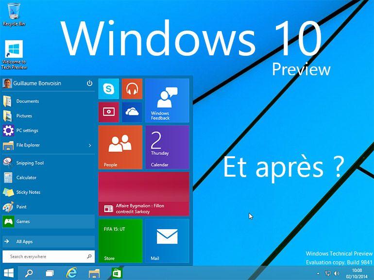 Windows 10 : la date de sortie finale