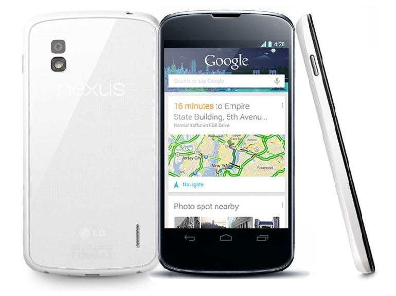 Android Lollipop en cours de déploiement pour le Nexus 4