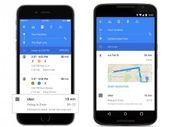 Un nouveau design pour Google Maps sur iOS et Android