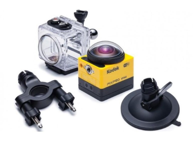 Kodak dévoile sa caméra d'action Pixpro SP360 Action Camera