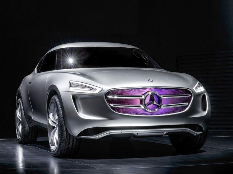Mercedes G-Code, surprenant petit crossover technophile