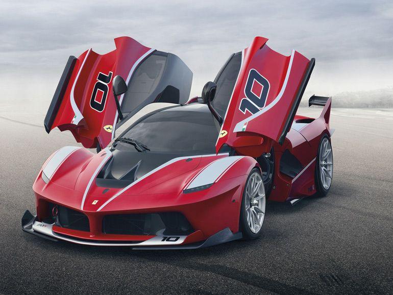 Ferrari FXX K, l'hybride au superlatif