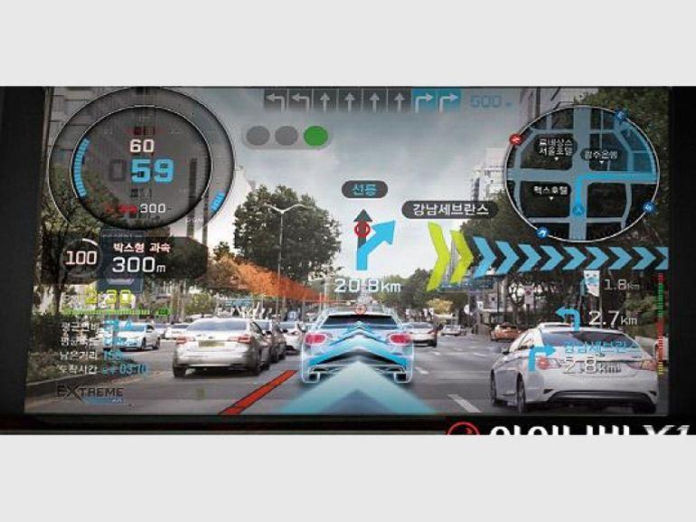 INAVI X1, le système GPS portable avec un temps d'avance