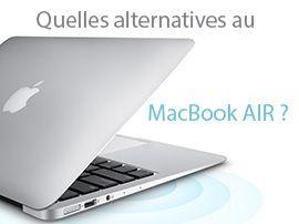 Les meilleures alternatives au MacBook Air