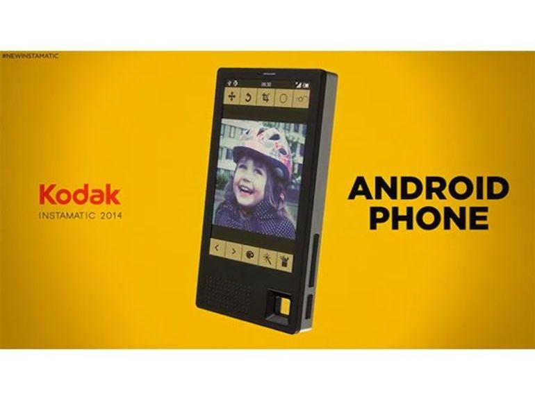 Kodak va sortir un smartphone Android orienté photo