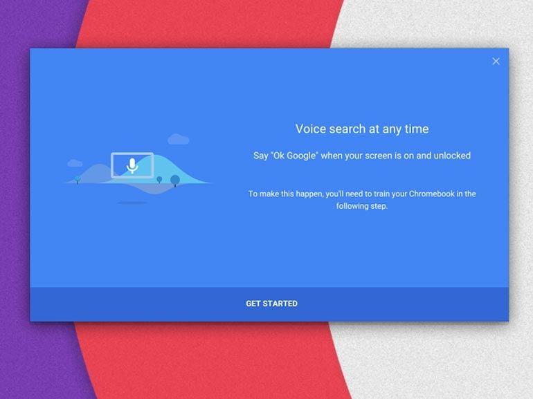 """""""OK Google"""" bientôt sur les Chromebook"""