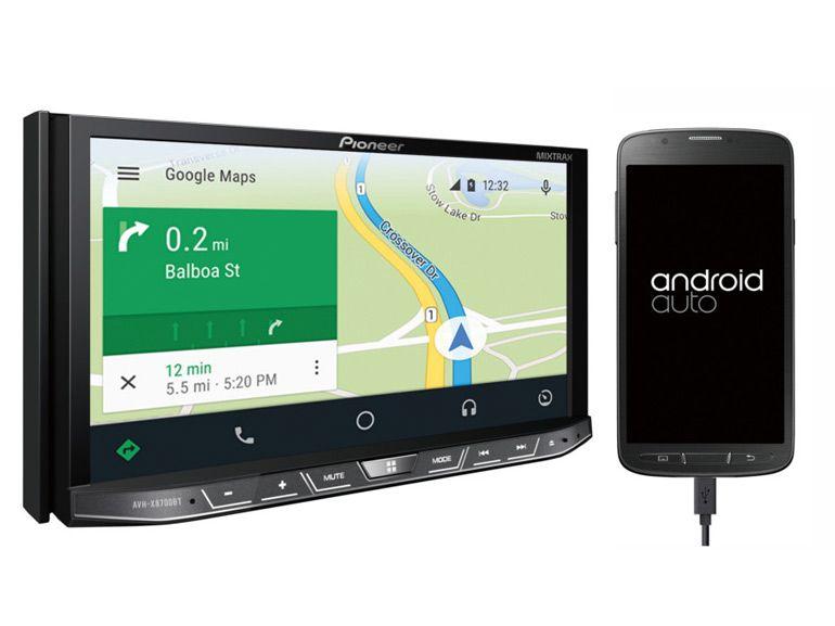 Android Auto débarque dans les autoradios