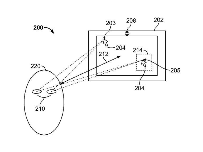 Brevet : l'oeil, une alternative à la souris et au tactile pour Apple