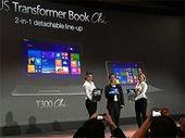 CES 2015 : Asus dévoile le Transformer Book Chi avec une puce Intel Core M