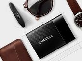 CES 2015 : Samsung SSD T1, un disque SSD de poche