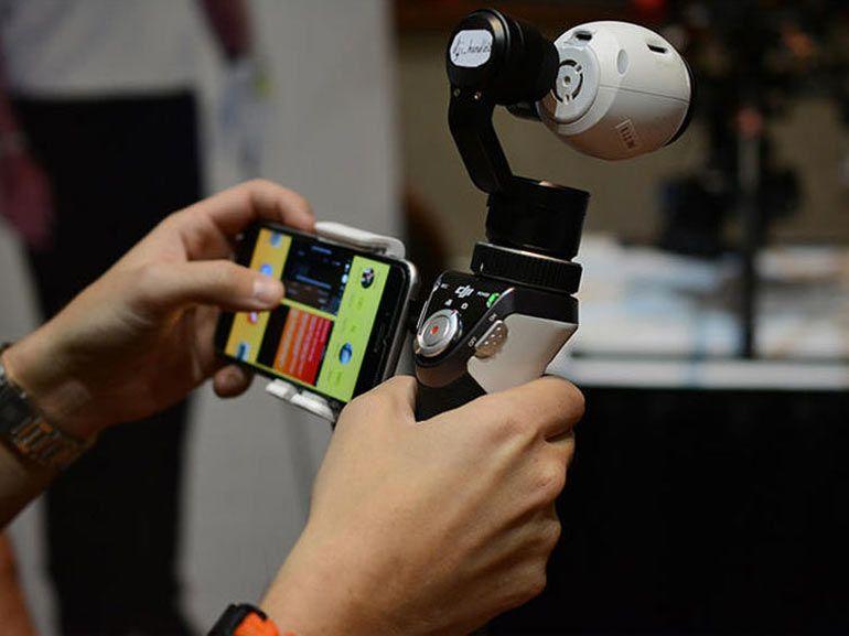 CES 2015 : DJI annonce un support pour la caméra du drone Inspire 1