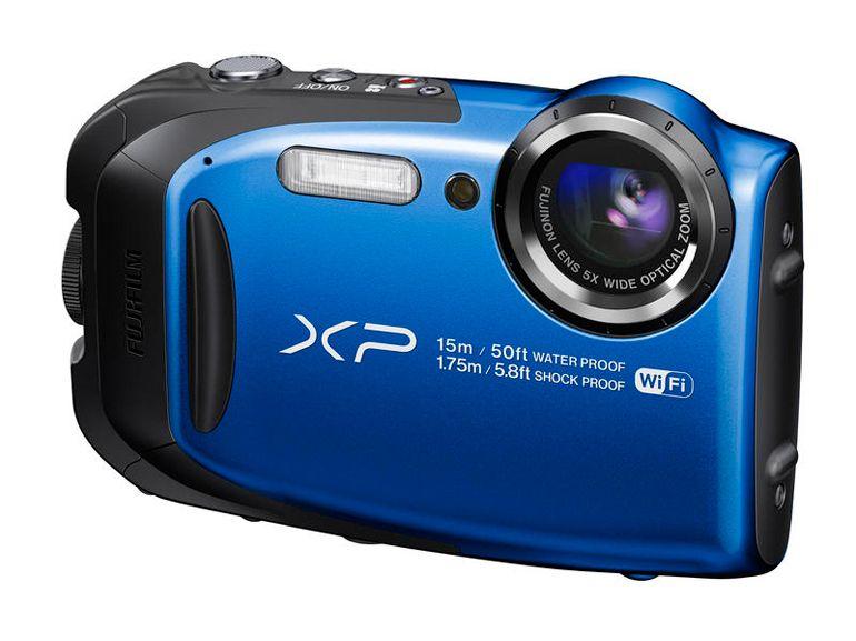 Fujifilm FinePix XP80 : immersion à 15 m, chute de 1,75 m, -10°C