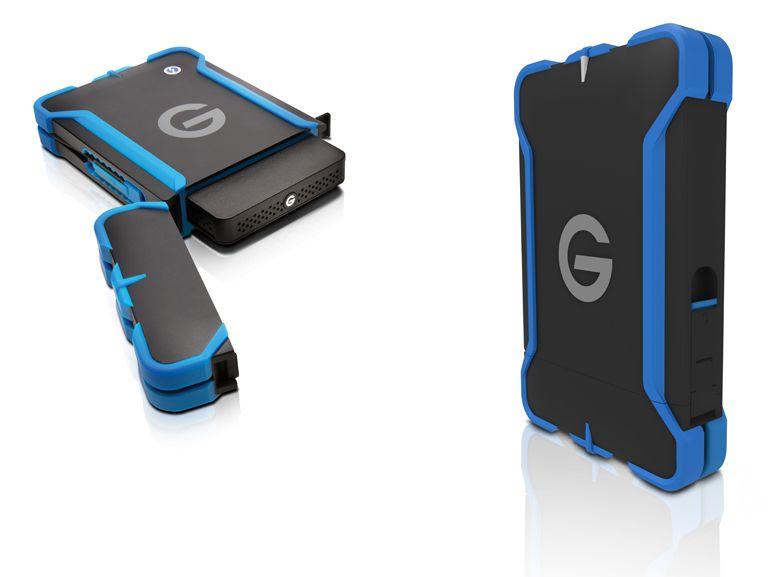 CES 2015 :  G-Drive ev ATC, des disques durs en armure