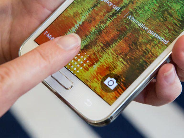 Samsung Galaxy S6 : un scanner d'empreintes digitales inspiré de celui de l'iPhone ?