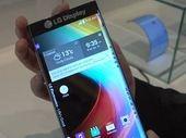CES 2015 : LG montre un écran courbé des deux côtés