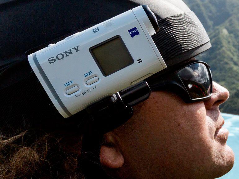 """CES 2015 : Action Cam X1000V, Sony passe à l' Ultra HD pour ses caméras """"sportives"""""""