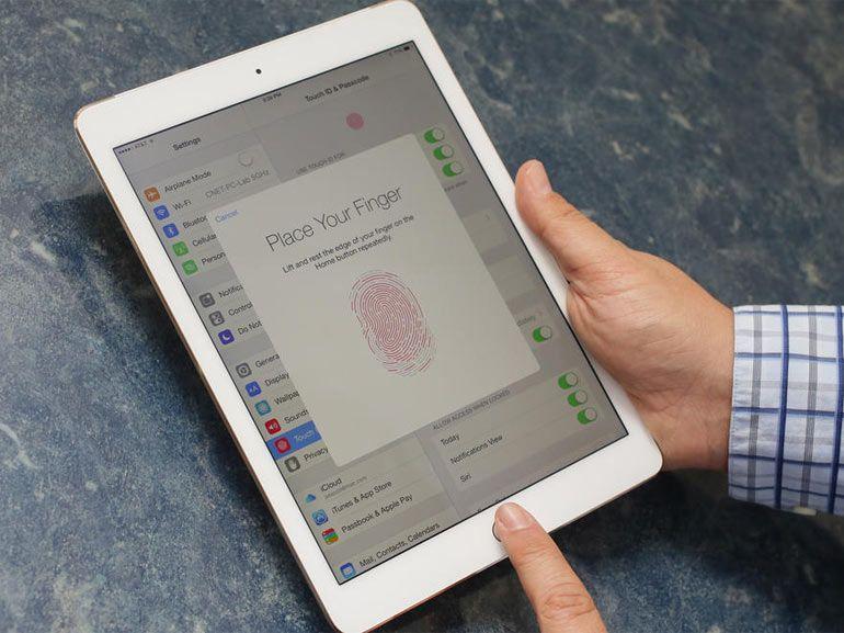 Brevet Apple : les empreintes digitales du Touch ID stockées dans iCloud