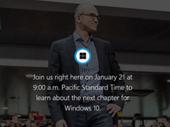 Live vidéo: la conférence Windows 10 à suivre en direct