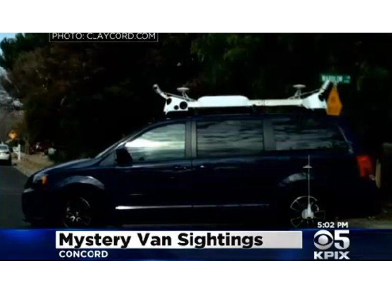 La mystérieuse voiture d'Apple