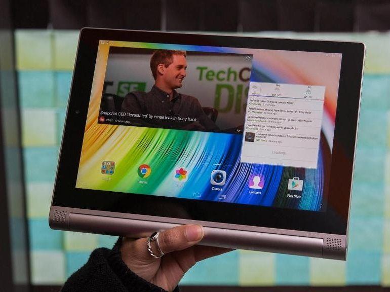 Bon plan : Lenovo Yoga Tab 2, 10 pouces à 234€
