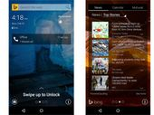 Avec Picturesque Lock Screen, Microsoft habille Android avec les couleurs de Bing