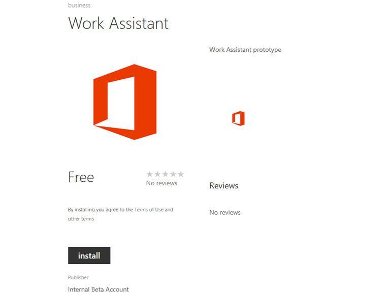 Microsoft teste un assistant pour mobile baptisé Work Assistant