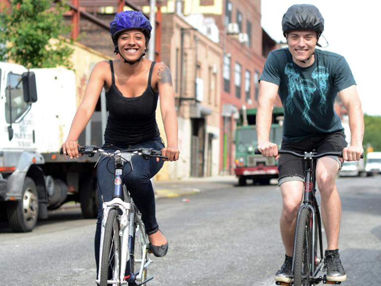 Un casque connecté pour analyser les zones dangereuses en vélo