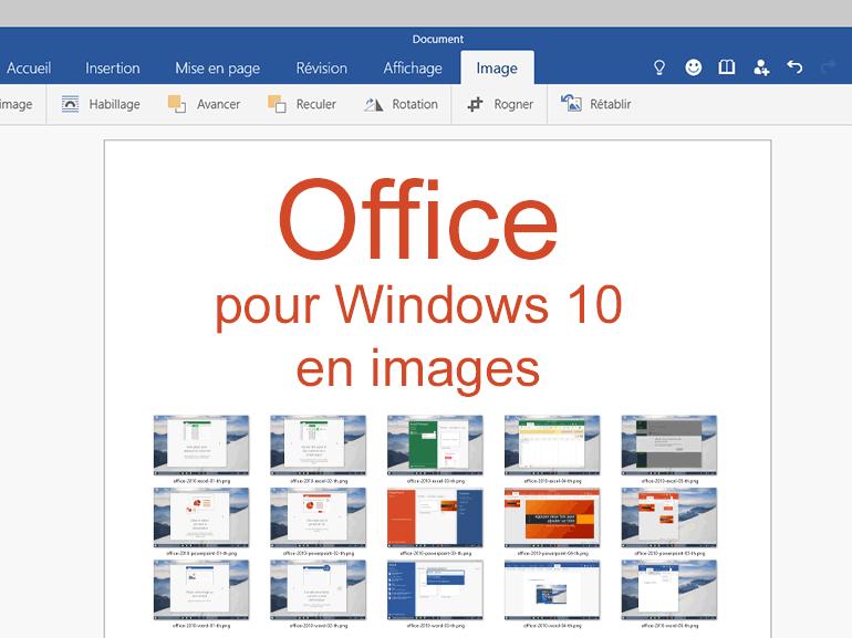 Office pour Windows 10 : Word, Excel et Powerpoint en images