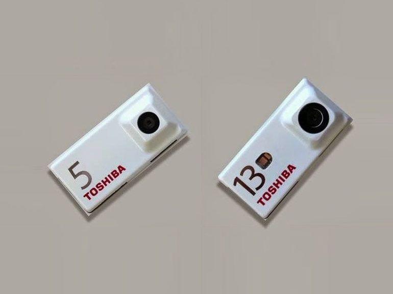 Toshiba présente ses modules photo pour le projet Ara