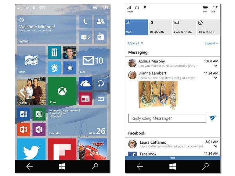 Windows 10 sur smartphone : une sécurité pour la preview et dernières rumeurs