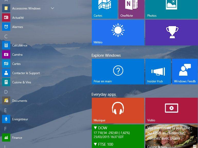 """Les """"Applications Windows"""", nouveau nom des applis Metro, Modernes ou Universelles"""