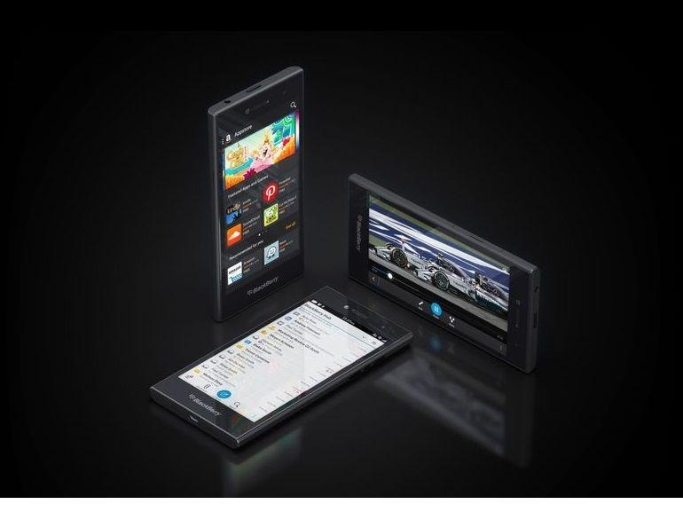 MWC : Leap, le nouveau smartphone tout tactile de BlackBerry